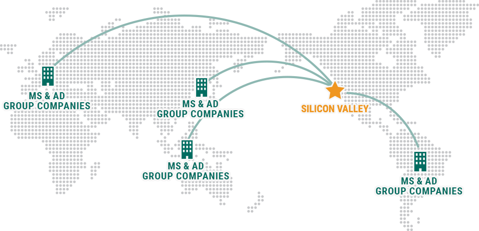 Silicon Valley MS & AD Group companies